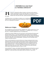 Halloween Article