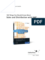 Sappress 100 Things Sales and Distribution With Sap