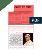 El Engaño del Siglo. La suplantación del Papa Paulo VI