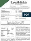 2012-02-26 - 1st Lent