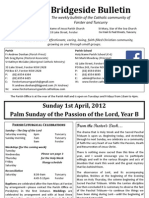 2012-04-01 - Passion Sunday