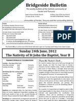 2012-06-24 - John the Baptist