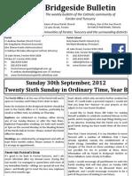 2012-09-30 - 26th Ordinary