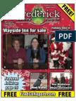 Frederick County Report, Dec. 14 - 27, 2012