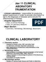 Chapter 11 Clinical Laboratory Instrumentation