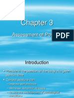 Chapter 3 - Assessment of Posture