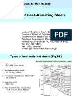Welding of Heat-resisting steel