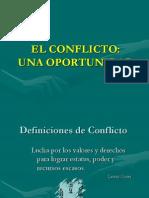 el conflicto una oportunidad
