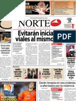 Periodico Norte de Ciudad Juárez 14 de Diciembre de 2012