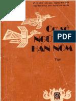 Cơ sở ngữ văn Hán Nôm I