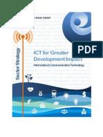 WBG ICT Strategy-2012