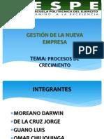 PROCESOS DE CRCIMIENTO EMPRESARIAL
