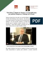 La Isleta de Vimenca, Paseo Churchill y Padre De la Fuente, sj.