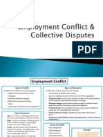 Employment Conflict & Collective Disputes