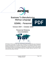 B2MML V0401 Personnel