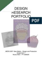 Design Research Portfolio - MEDS2007