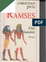 Cristian Jacq Ramses Fiul Luminii