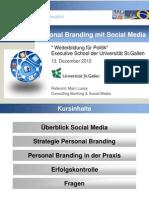 Personal Branding mit Social Media in der Politik
