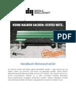 Handbuch Netzneutralität