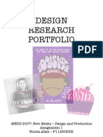 Design Research Portfolio