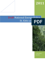 St. Kitts and Nevis, Draft National Energy Policy, 2011
