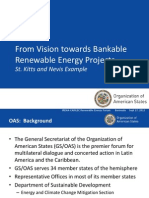 OAS (Kevin de Cuba), From Vision towards Bankable Renewable Energy Projects, St. Kitts and Nevis Example