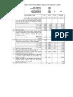 Copy of Unit Estimate- Rectangular Brick Manhole