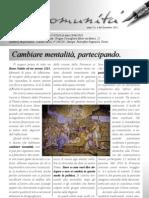 Notiziario Comunità, dicembre 2012