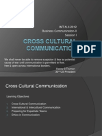 cross cultural case study pdf | Target Audience | Communication