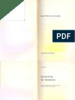 PROCLO - Elementos de Teología (Completo)
