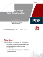 97420099 WCDMA NodeB Data Configuration