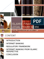 Legal Framework of Internet Banking