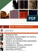 Legal Framework of Takaful