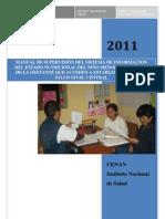Manual Control de Calidad -Supervisión SIEN 2011