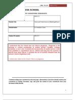 Research Proposal (Umar Jabbar, 0941757)