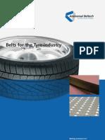 belt for tyre industry