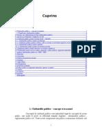 Analiza Cheltuielilor Publice in Romania