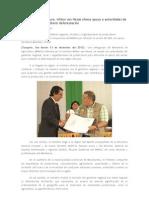 Ministro de Agricultura, Milton von Hesse ofrece apoyo a autoridades de San Martín para combatir deforestación