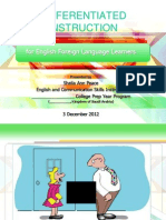 Differentiated Instruction for e.f.l. Learners-withaudio (k.s.a., 3 Dec. 2012)