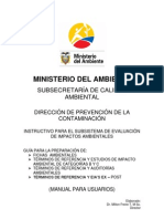 MAE Manual Para Usuarios