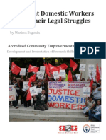 Migrant domestic workers and their legal struggles