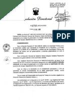 DESIGNAN NUEVO GOBERNADOR EN DISTRITO DE SANTIAGO DE CAO