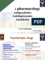 Antipsycho, Antidep, Anxiolytics