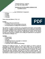 Report on Methodology of Teaching German For