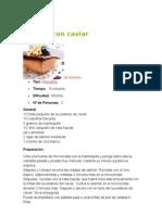 Salmón con caviar
