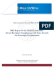 2012 Economic Development Accountability Report