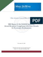 2012 Economic Development Accountability Report