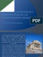 Aspectos Estructurales y Constructivos de Las Construcciones Griegas