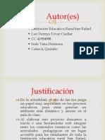Power Point Proyecto Cpe Luz Dennys