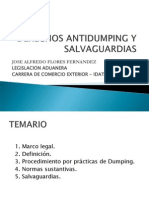 Antidumping y Salvaguardias